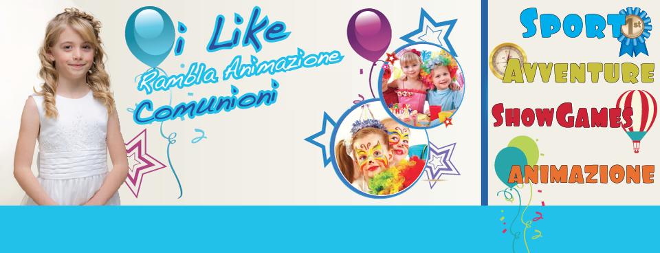 Animazione comunioni e cerimonie per bambini sulle province di Pescara, Chieti, Teramo e l' Aquila