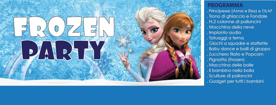 Festa a tema Frozen Animazione per bambine principesse Pescara, teramo, chieti e l'Aquila